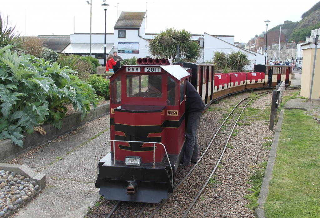 'Speedy Fizzle' on the Hastings Miniature Railway. Picture by Jonathan James.