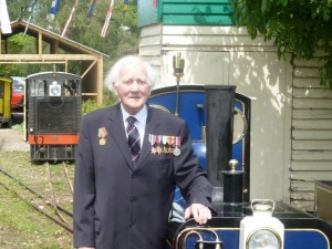 The late Commander Roy Francis RN, picture courtesy W&WLR.