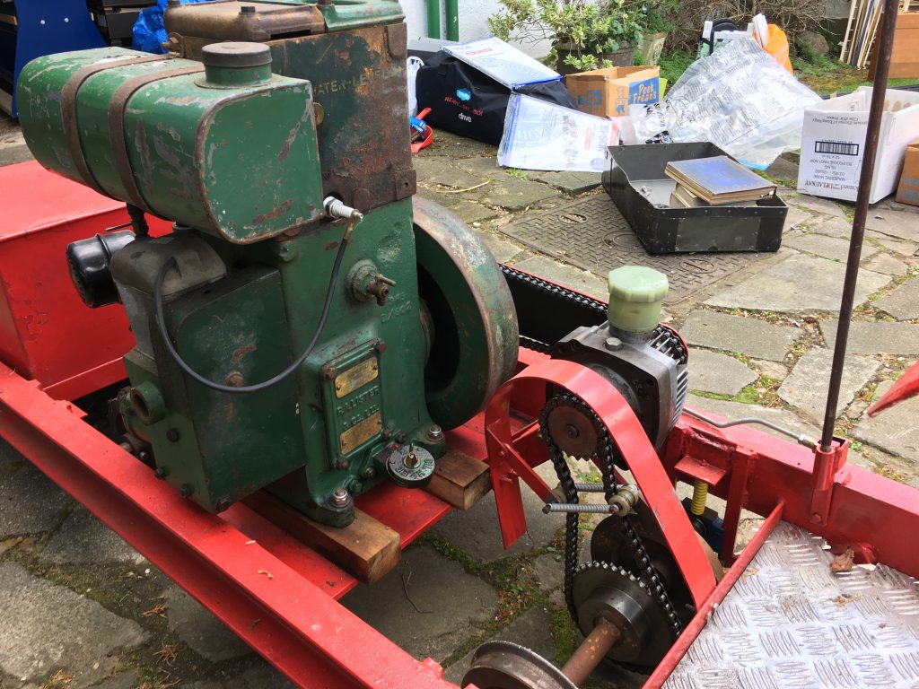 Sold! Lister loco for sale – gauge adjustable | Ten and a