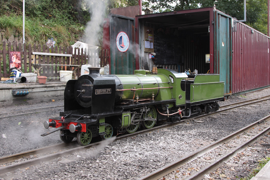 'Waverley' on shed